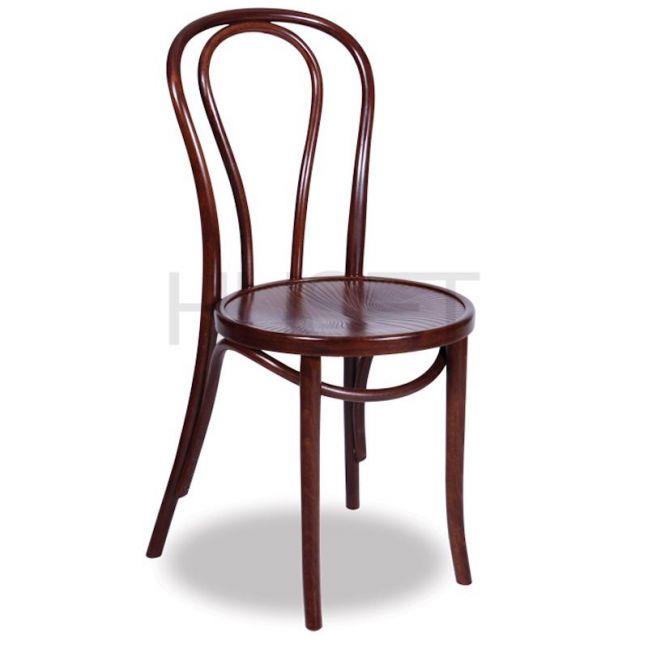 Vienna 18 Bentwood Chair by Micheal Thonet | Walnut