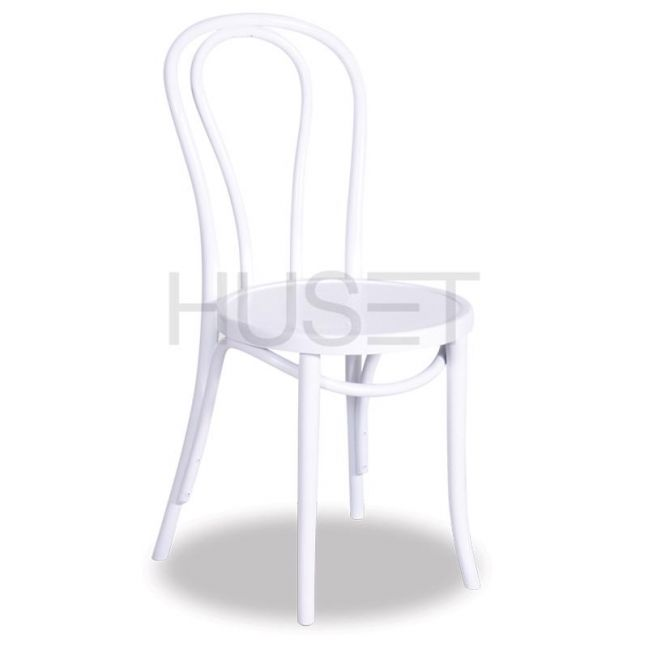 Vienna 18 Bentwood Chair by Micheal Thonet | White