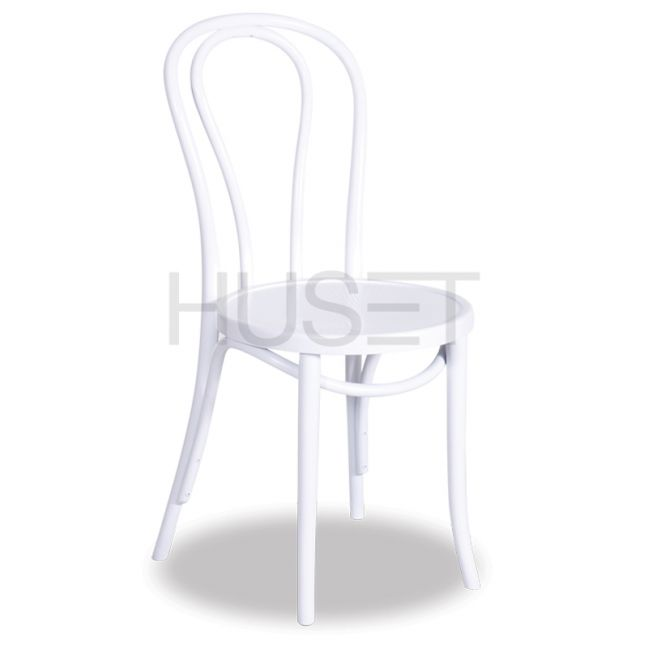 Vienna 18 Bentwood Chair Embossed Seat White