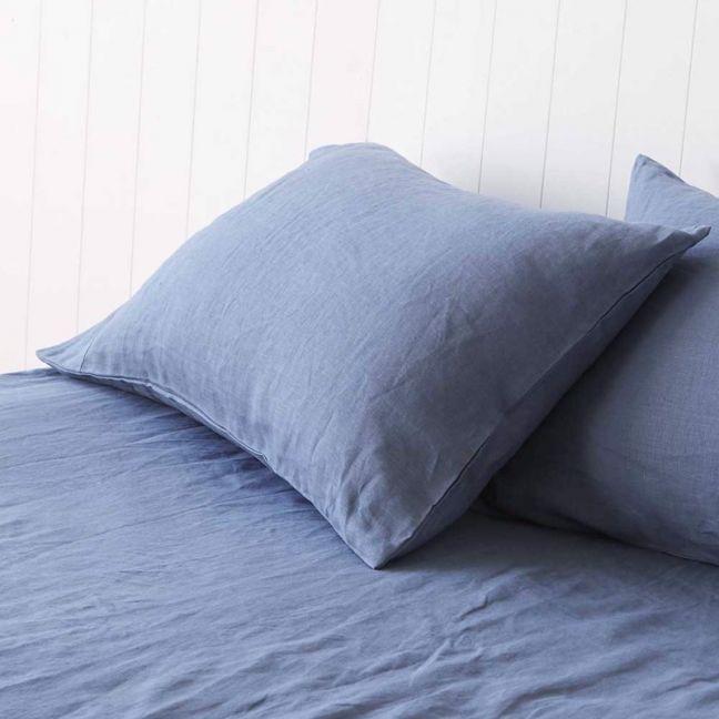 Vintage Denim Blue Pillowcases