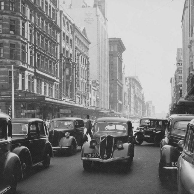 Vintage Melbourne - Elizabeth St. | Wallpaper