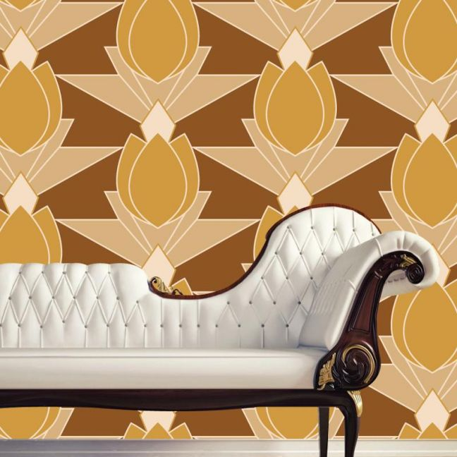 Vivienne - Days Of Old | Eco Wallpaper | Amba Florette