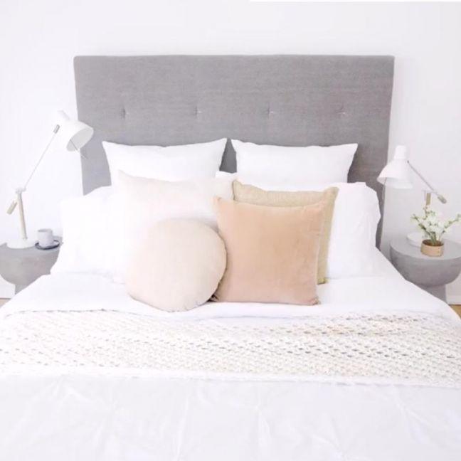 Warwick Fabric Aria Bedhead | Custom Made by BedsAhead | KING SIZE