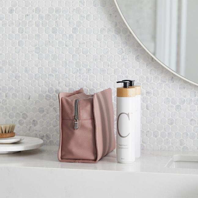 Wash-Bag | V&M Spa | Dusty Rose