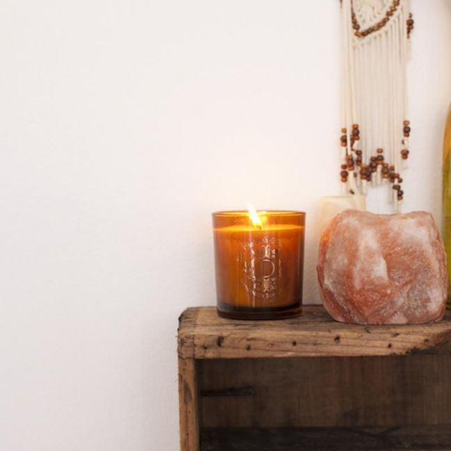 Watermelon Soy Candle Amber Pot