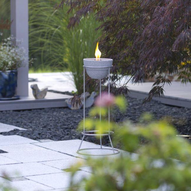 Waxburner Outdoor L Granicium | by DENK Ceramics