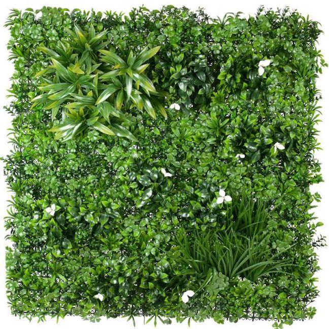White Oasis Vertical Garden   1m x 1m