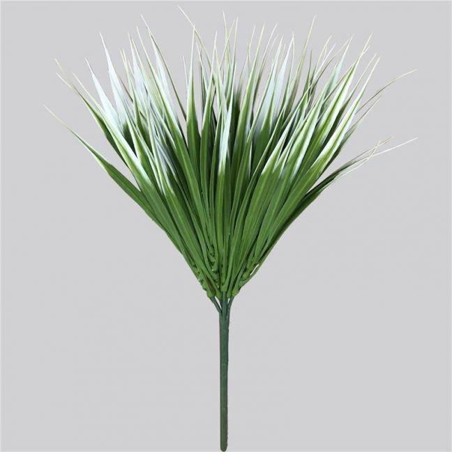 White Tipped Grass Stem 35cm UV
