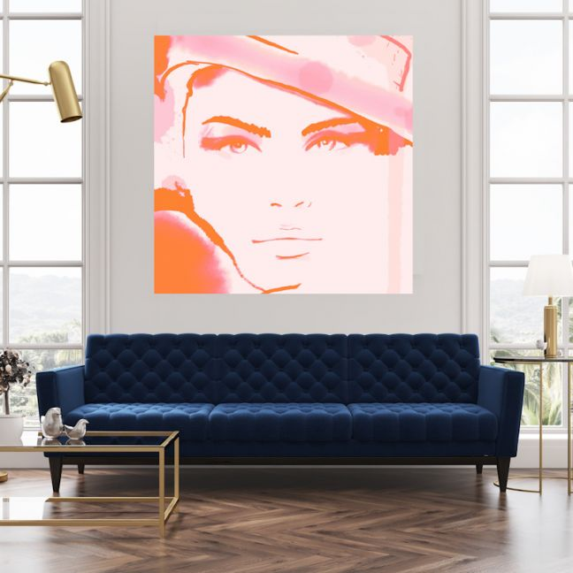 Whitney | Canvas Wall Art by Hoxton Art House