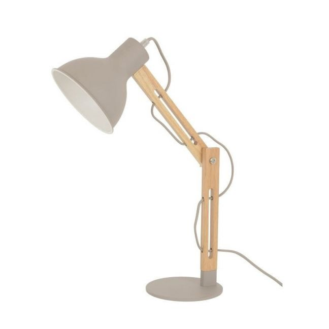 Wilfred Table Lamp in Grey   Beacon Lighting