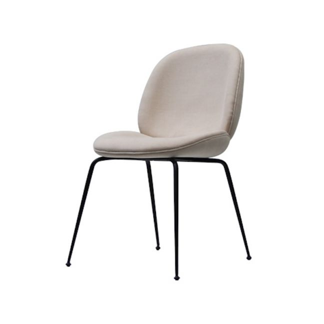 Winston Dining Chair   Beige with Black Legs by SATARA