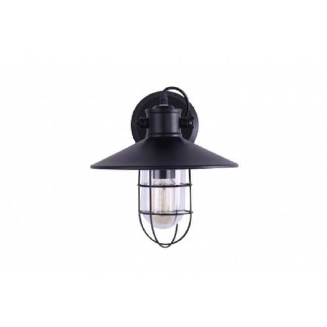 Wire Guard Industrial Wall Light