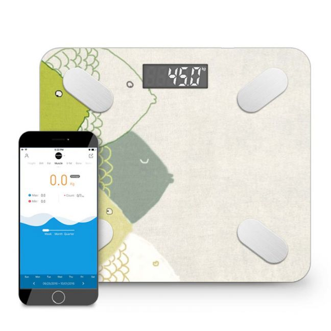 Wireless Bluetooth Digital Body Fat Scale Bathroom Health Analyzer Weight