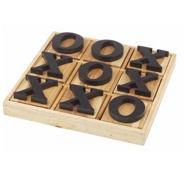Wooden Noughts & Crosses