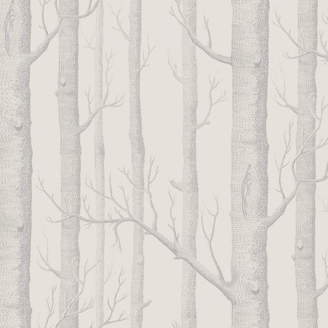 Woods Wallpaper - Parchment