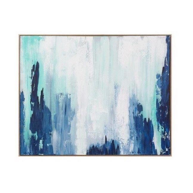 Xavier | Framed Canvas Painting