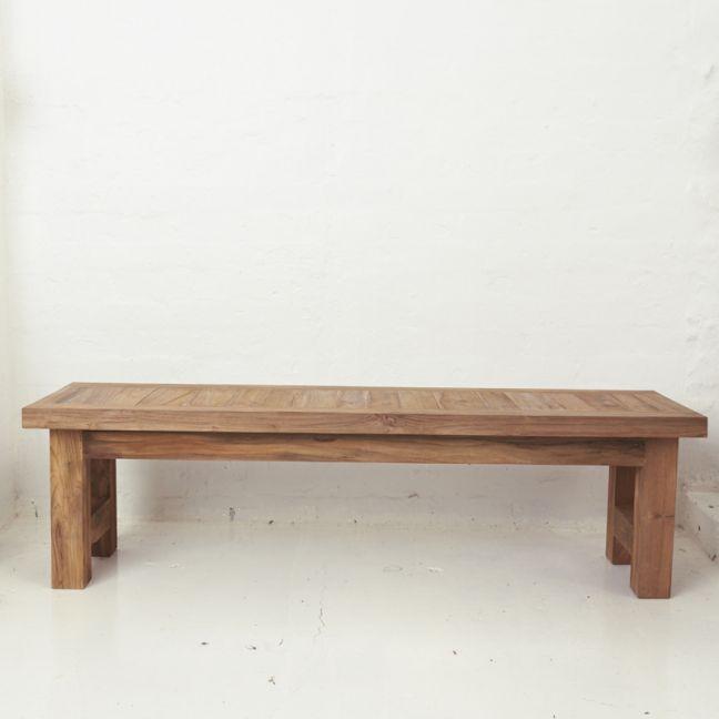 Yashar Rustic Bench Seat Large l Pre Order
