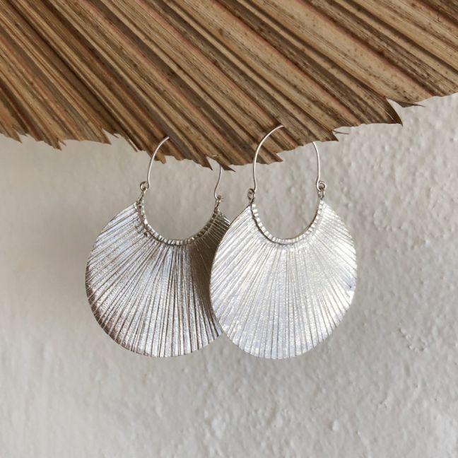 Yeda Earrings Silver