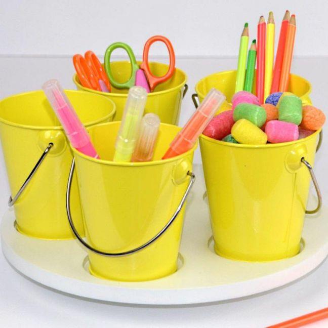 Yellow Craft Turntable