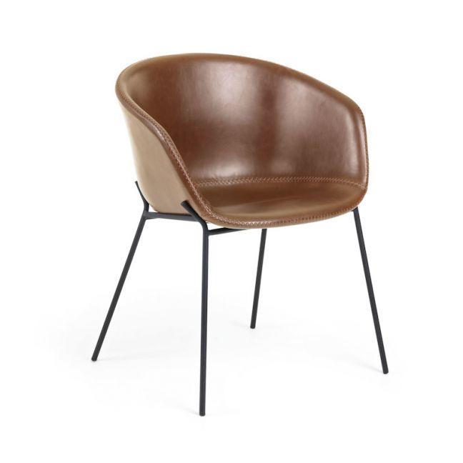 Zadine Armchair | Rust Brown