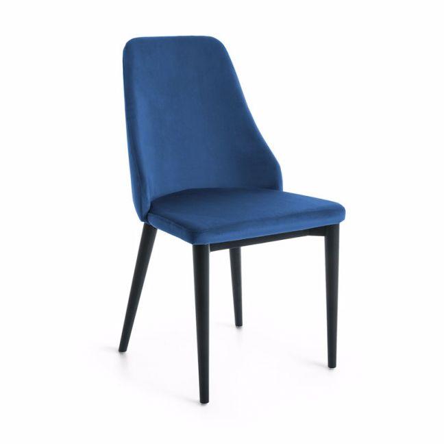 Zane Dining Chair | Royal Blue Velvet | CLU Living