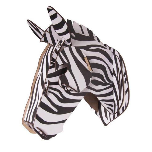 Zebra Wall Mounted Puzzle