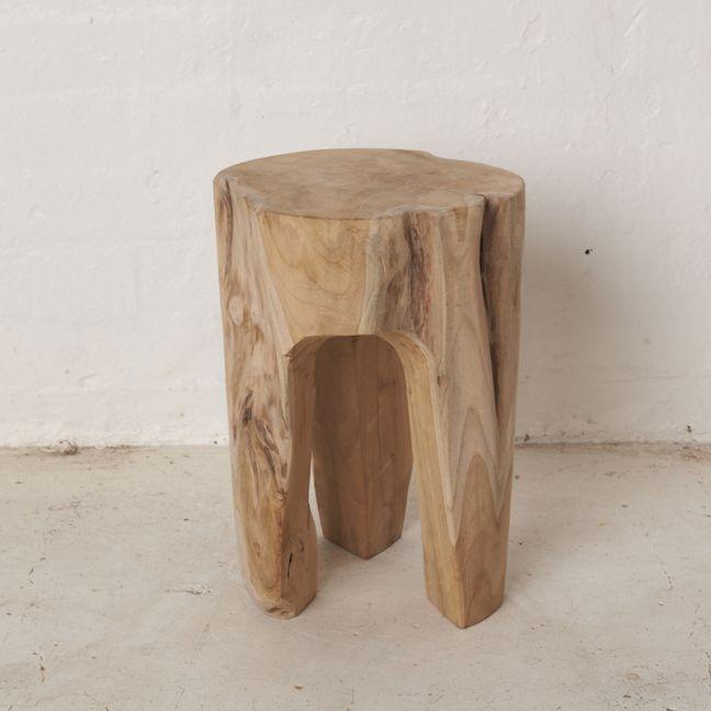 Zena Tree Stump Stool