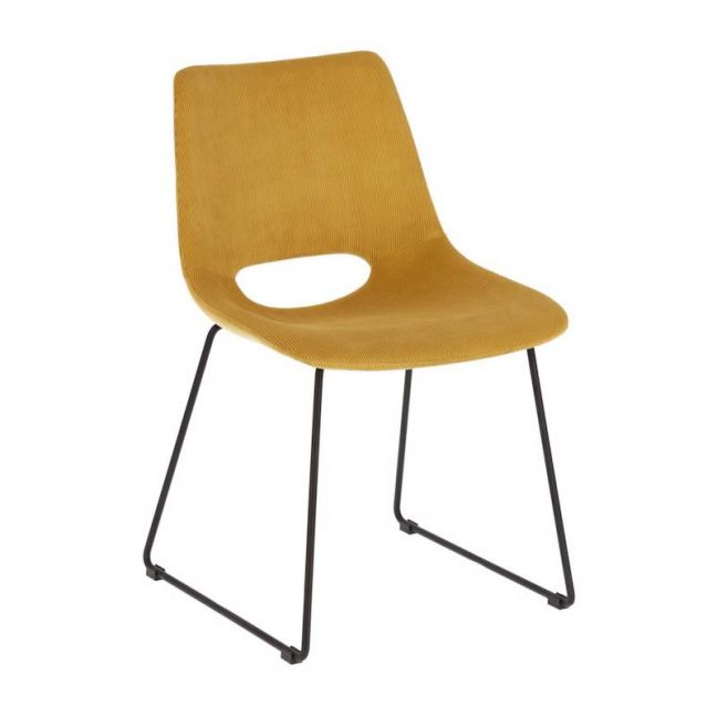 Ziggy Chair | Mustard Corduroy