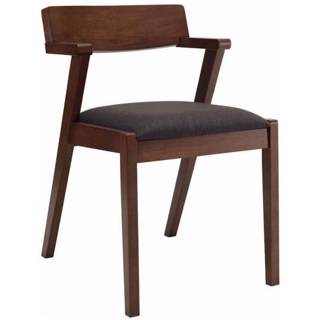 Zola Dining Chair | Cocoa + Mud | Modern Furniture