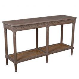 Polo Long Console Table Oak Wash