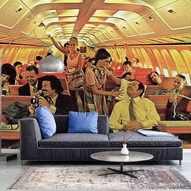 Old School Plane Wallpaper